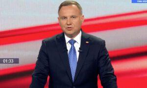 Debata Dudy, czyli groteskowe wystąpienie w TVP, zamiast spotkania wyborczego