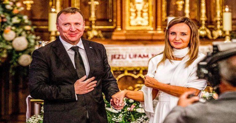 drugi ślub kościelny Jacka Kurskiego