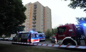 Tragedia w Koszalinie! Dwójka małych dzieci wypadła z okna na 9. piętrze