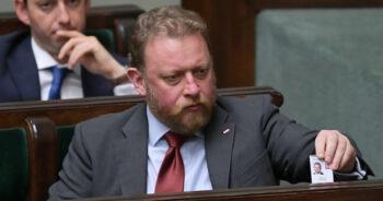 dymisja Łukasza Szumowskiego