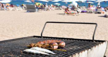 Grillowanie na plaży