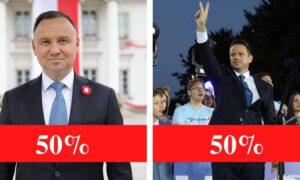 Historyczny wynik wyborów prezydenckich. W gminie na Podlasiu doszło do remisu