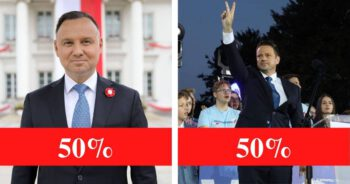 Historyczny wynik wyborów prezydenckich 2020