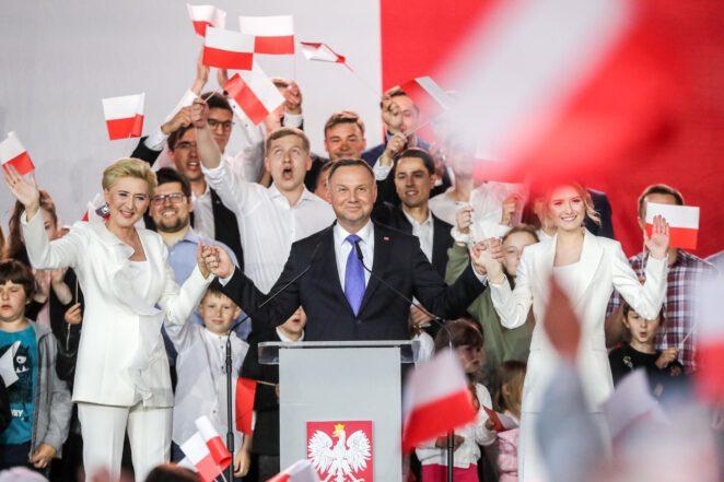 Oficjalne wyniki II tury wyborów prezydenckich 2020