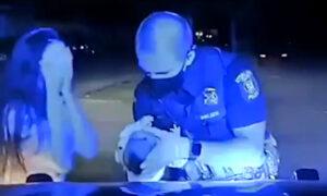 Policjant uratował niemowlę! Maleństwo zakrztusiło się i przestało oddychać