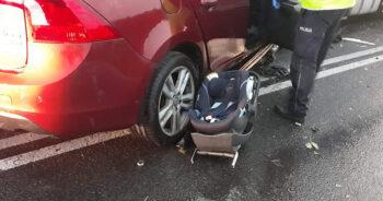 przerażający wypadek samochodowy 2