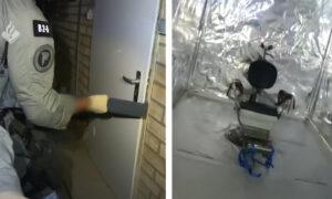 Policjanci odkryli kontener przerobiony na salę tortur. Szokujące nagranie