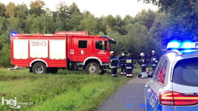 Wypadek w Łysakowie