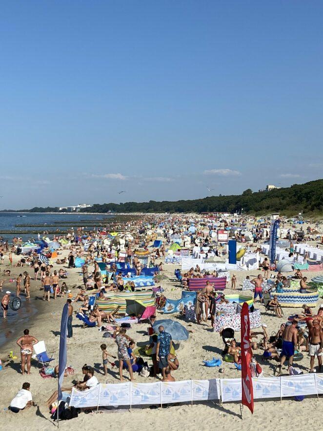 4-latka zaginęła na plaży w Kołobrzegu