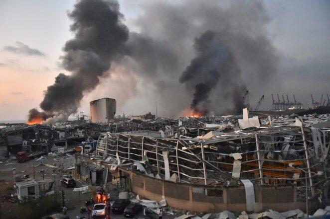 Andrzej Duda o wybuchu w Bejrucie 2