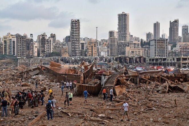 Andrzej Duda o wybuchu w Bejrucie 3