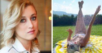 Justyna Żyła w skąpym stroju