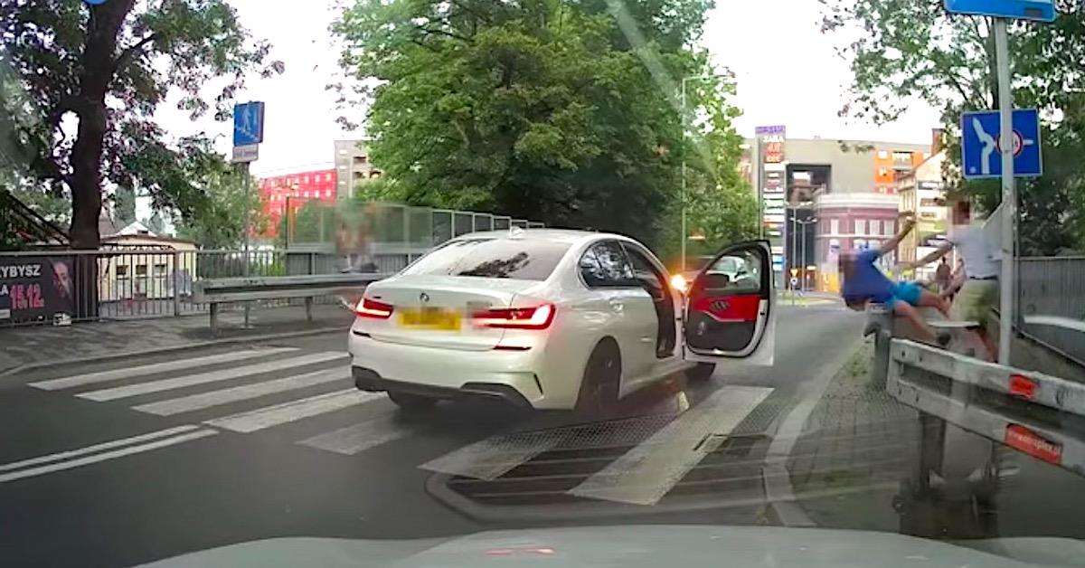 Kierowca pobił pieszego