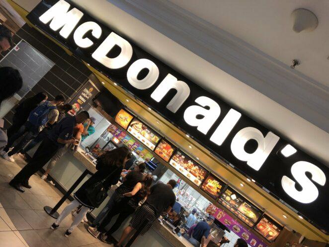 Koronawirus w restauracji McDonald's