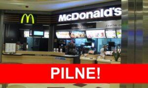 Koronawirus w McDonald's! Sanepid pilnie poszukuje klientów lokalu