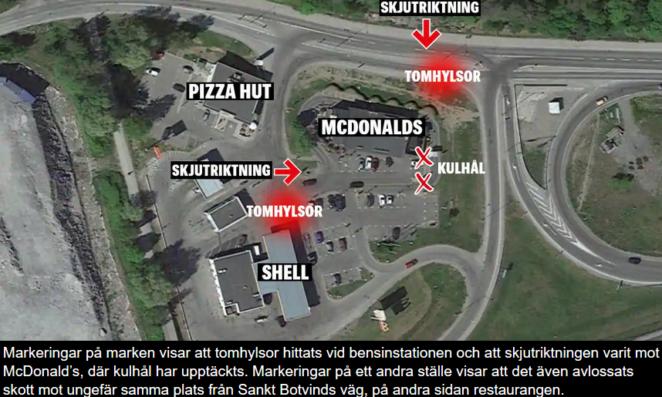 Strzelanina niedaleko Sztokholmu