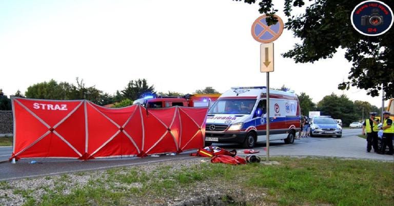 Tragiczny wypadek pod Warszawą