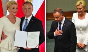 Zaprzysiężenie prezydenta Andrzeja Dudy. Musiał ślubować przy fladze LGBT