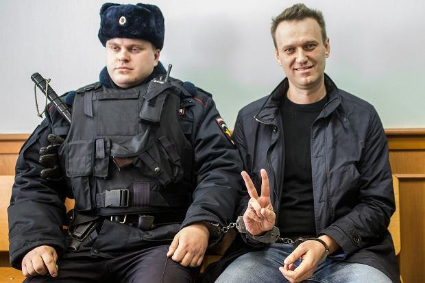 Aleksiej Nawalny w szpitalu