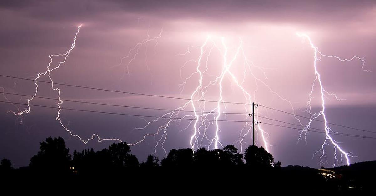 niebezpieczne burze