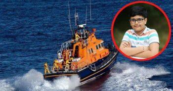 chłopiec przeżył na morzu