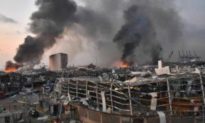 Eksplozja w Bejrucie. Jedna z teorii spiskowych zakłada walizkową bombę atomową
