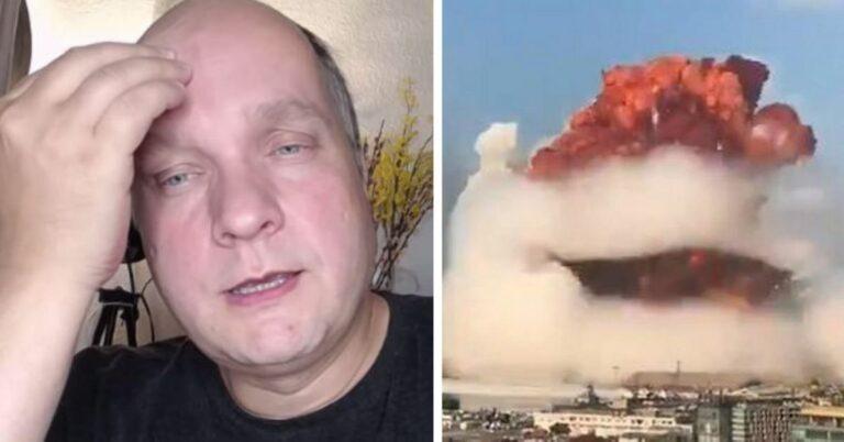 Glanc przewidział eksplozję w Bejrucie