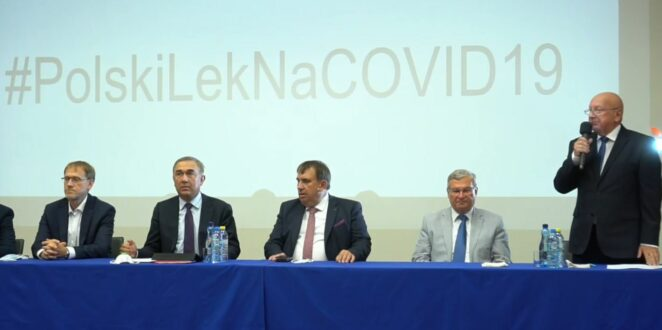 Polska firma ruszyła z produkcją leku na koronawirusa