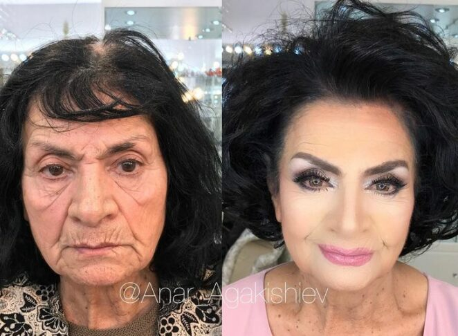 fachowy make-up