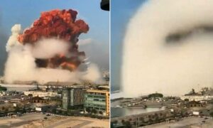 Potężna eksplozja w Bejrucie. Setki ludzi uwięzionych pod gruzami