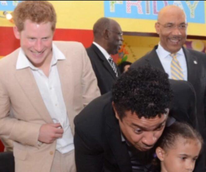 pieciolatka poniżyła księcia Harry'ego