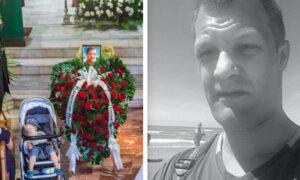 Pogrzeb Marcina Kolczyńskiego. Pożegnanie bohatera, który uratował obce dzieci
