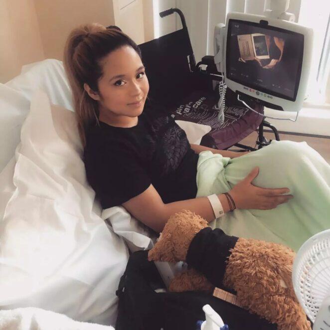 pomyliła raka ze skurczem