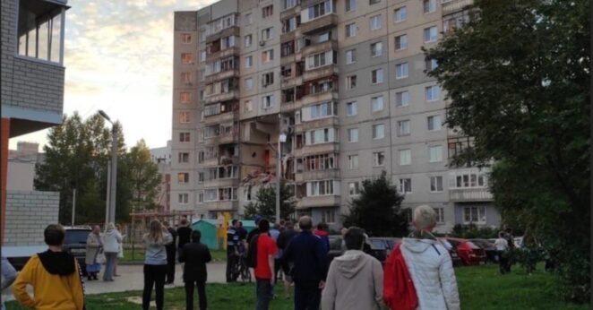 wybuch gazu w Jarosławiu