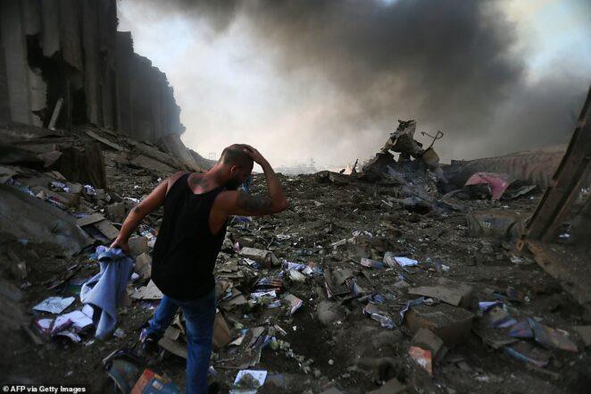 zniszczenia po eksplozji w Bejrucie 3