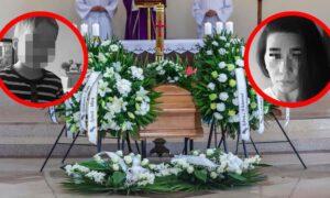 Pogrzeb policjantki i jej synka był wzruszający. Pochowano ich w jednej trumnie