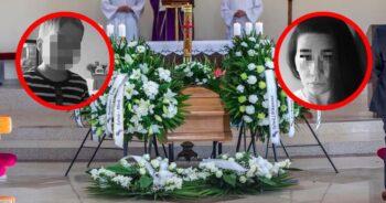 Pogrzeb policjantki i jej synka