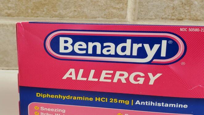 Benadryl Challenge