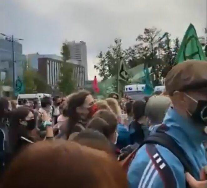 Protest Extinction Rebellion