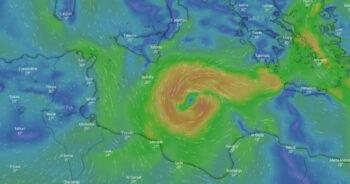 huragan nadciąga nad Europę 3