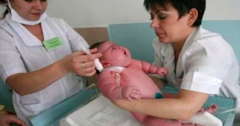 największy noworodek na świecie