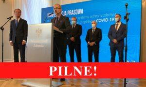 Nowa strategia walki z Covid-19. Ministerstwo Zdrowia powołuje specjalny zespół