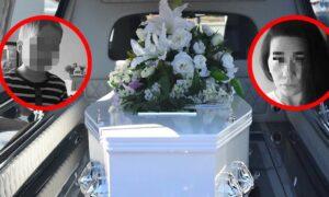 Ostatnie pożegnanie policjantki, która zastrzeliła siebie i 9-letniego synka