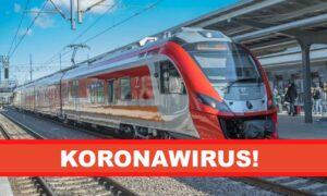 Pasażer pociągu zakażony koronawirusem! Sanepid apeluje do innych podróżujących