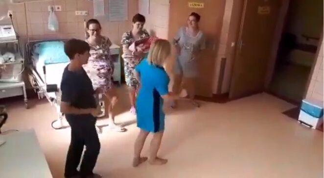 położne tańczą na porodówce 3