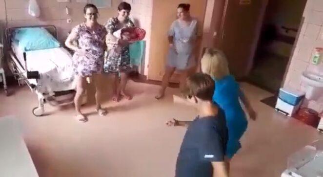 położne tańczą na porodówce 4