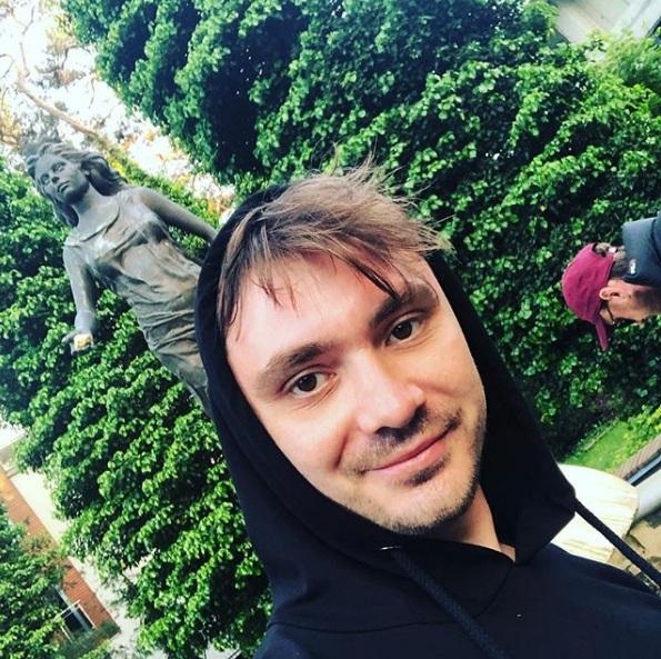 Daniel Martyniuk odbywa prace społeczne