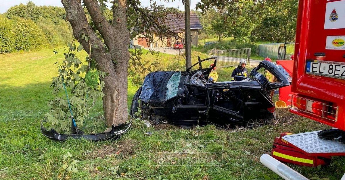 Tragiczny wypadek w Byszewach