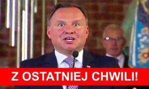 """Andrzej Duda ma koronawirusa! Prezydent jest pod opieką """"odpowiednich służb"""""""