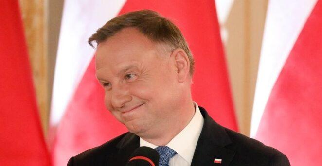 Andrzej Duda przerywa milczenie